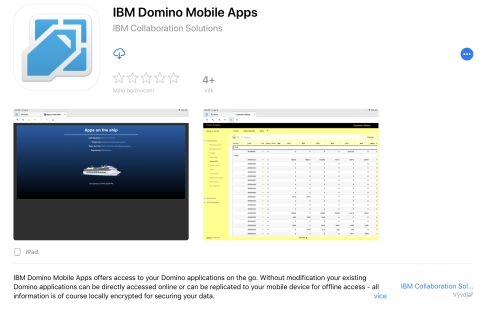 IBM Domino Mobile Apps for iPad official release  How to install